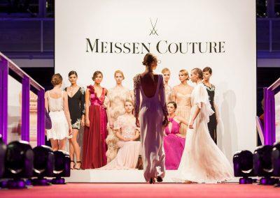 Kundenevent mit Couture Modenschau, Gläserne Manufaktur Dresden, im Auftrag für First Class Concept