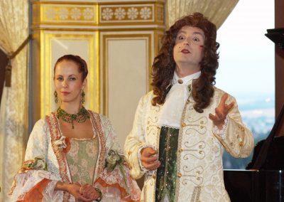 Barocke Nacht auf Schloss Albrechtsberg für First Class Concept