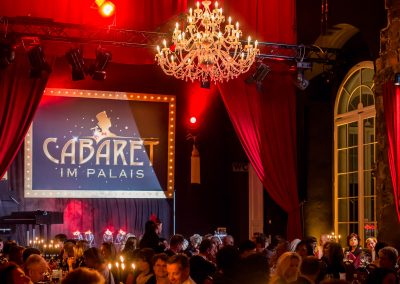 Dinner Show im Kurländer Palais im Auftrag von Benchmark GmbH