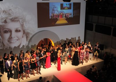 Fashionshow OUTLOOK Eventwerk Dresden, Idee, Choreografie, Regie im Auftrag für First Class Concept
