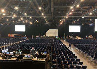 Event Regie, Betriebsversammlung Messe Erfurt, im Auftrag für SAM Produktion